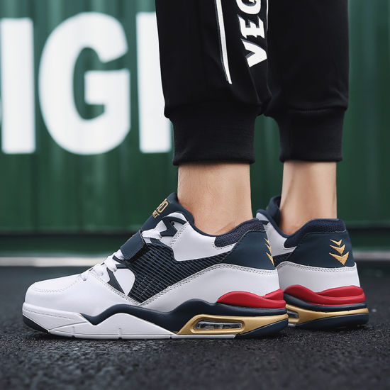 High Quality Cheap Chinese Basketball Shoes Men Original High Top