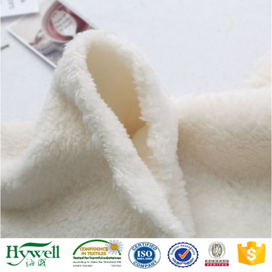 Faux Sheepskin Sherpa Fleece Fabric for Coat Jacket Shoe Lining By Meter