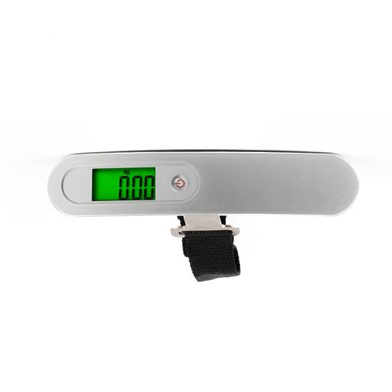 50kg Digital Portable LCD Travel Hanging Luggage Weighing Scale