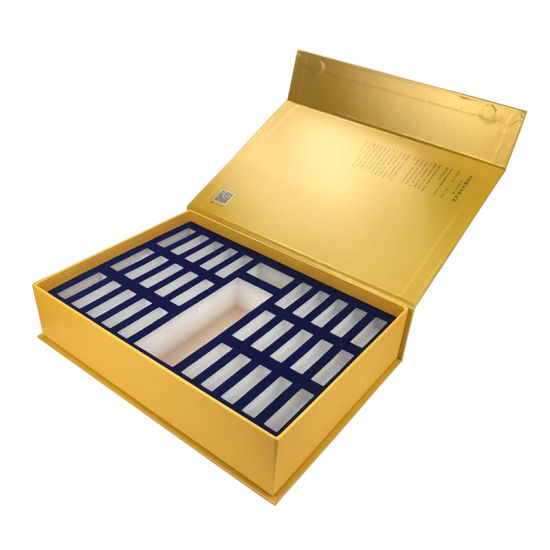 China Shenzhen Golden Magnetic Closure Gift Boxes