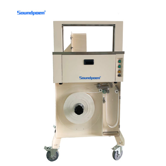 Cheap Factory Delivery Binding Packaging Machine in Stock High Table Type Binding Machine Automatic Cartons Auto Banding Machine