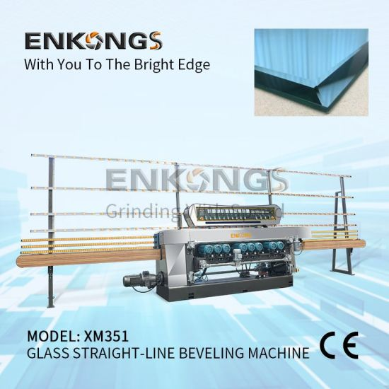 Float Glass and Mirror Beveling Edging Polishing Machine