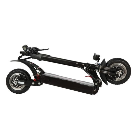Dual Motor 2*1200W Electrric Scooter with Fast Speed