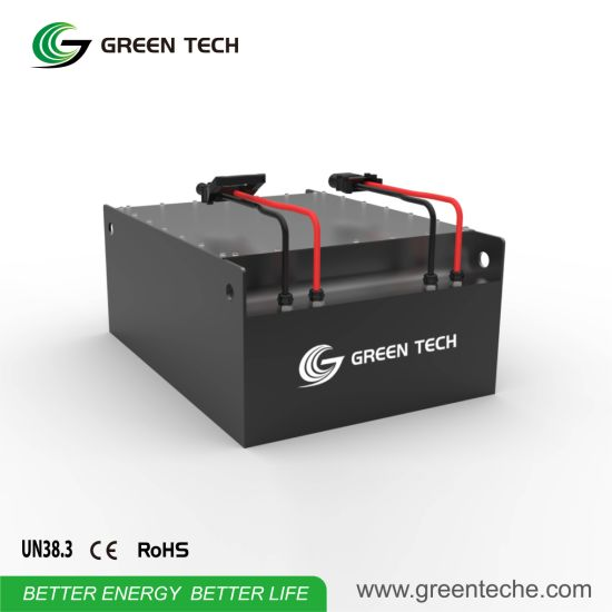 Rechargeable Electric Operated Forklift Battery with Charger
