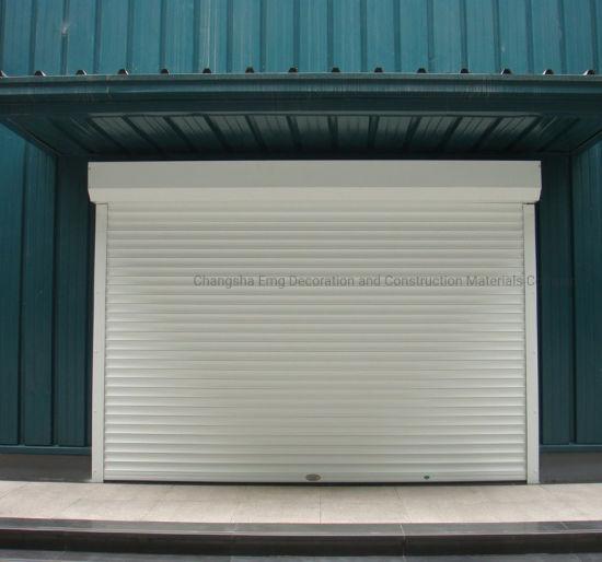 Industrial Use Rolling Shutter Door Garage Door Large Entrance Door