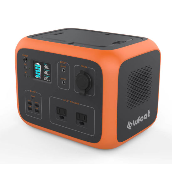 Luki500 Portable Clean and Silent Power Generator Lithium Battery Back up Storage Power Supply