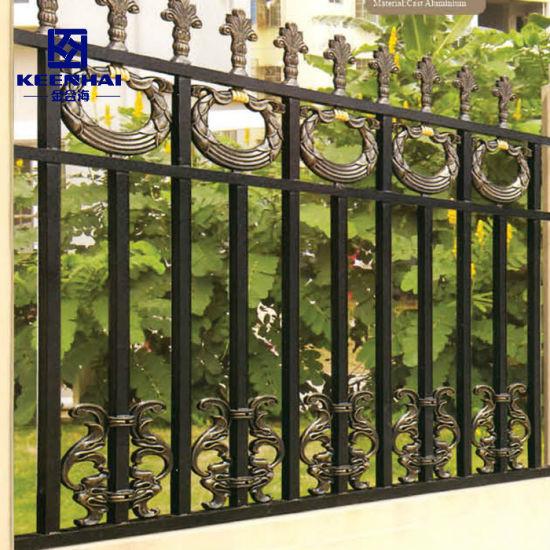 Vintage Design Decorative Aluminum Garden Fence for Villa (KH-AF010)