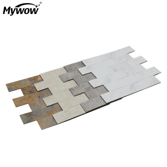 MyWow Marble Wood Effect Vinyl Wall Panel Best Quality