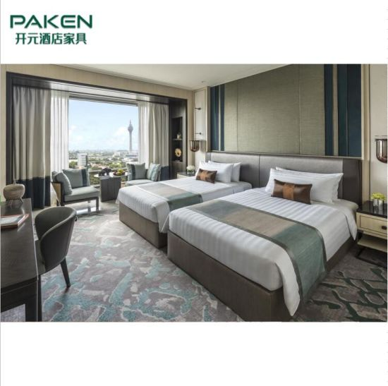Factory Prices Modern Luxury Bedroom Furniture for Hotel