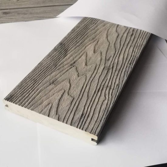 Wholesale Wood Plastic Composite Synthetic Decking for Outdoor