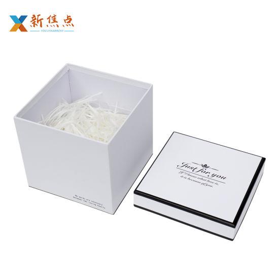 Custom High Quality Printed Carboard Lid Base Weddingn Festival Gift Box