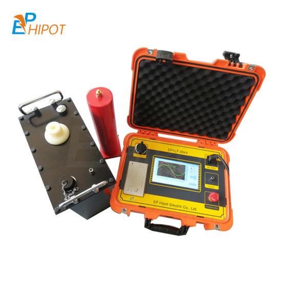 0.1Hz Vlf High Voltage Generator AC Hipot Tester for Cables, Gis 30kv/40kv/50kv/60kv/70kv/80kv/90kv/100kv Vlf Testing Machine