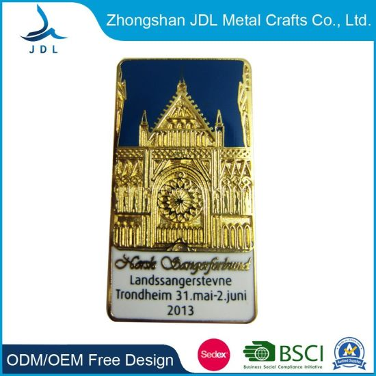 Wholesale Custom Metal Craft Country Badge Lapel Pin with Free Sample (229)
