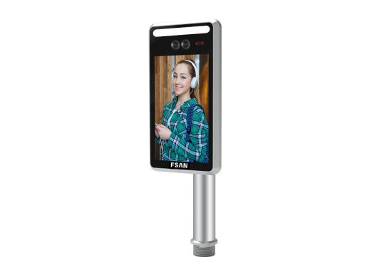 Fsan 2MP 7 Inch Living Face Detector Face Recognition Attendance Terminal Camera