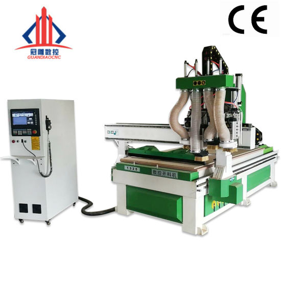 Woodworking CNC Router Atc 1325 for Wooden Door Furnitures Cabinets/ 1530 Wood Caving and Engraving Machine / 3D MDF Plywood Acrylic Cutting Machinery
