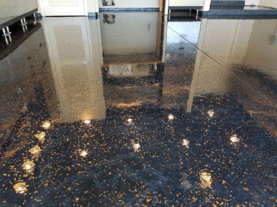 Metallic Epoxy Resin Floor Coating