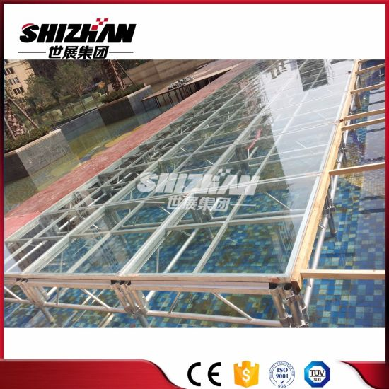 Small Cheap Acrylic Portable Stage Platform Outdoor Performance Concert Equipment for Sale