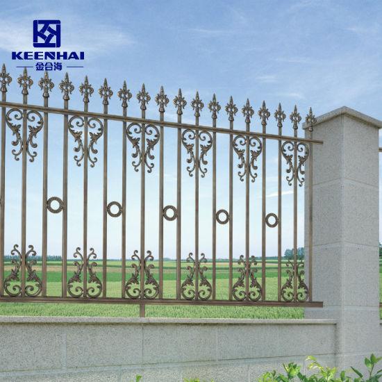 Luxury Design Decorative Aluminum Garden Fence for Villa