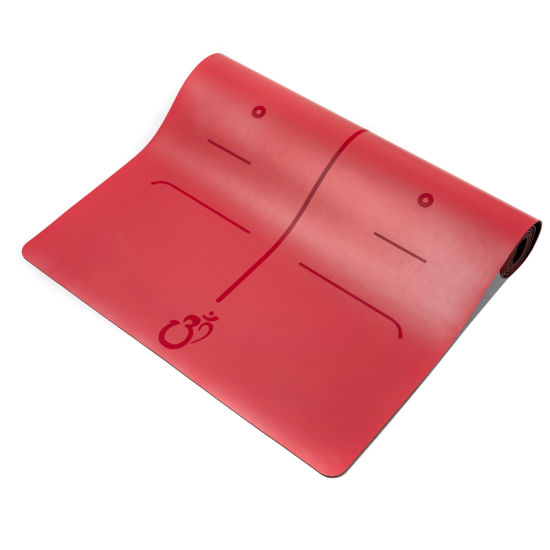 Reach Manufacturer Wholesale Eco Friendly Custom Print Logo Natural Rubber Yogamat Organic Non Slip PU Natural Rubber Yoga Mat
