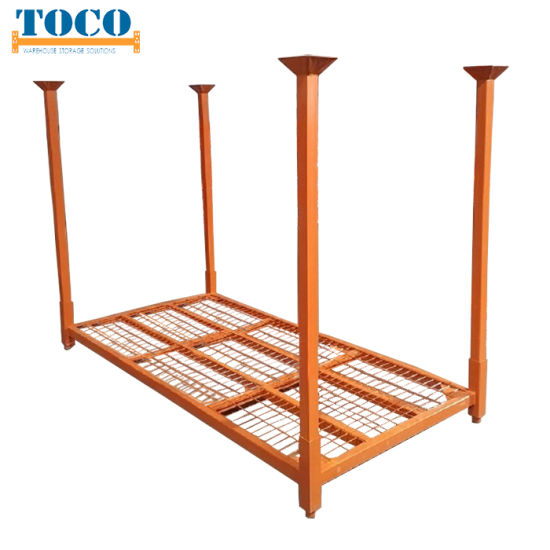 China Wholesale Light Duty Furniture Movable Stacked Bar Rack with Sheet Plastic Deck