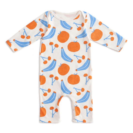 Bkd Top Seller Organic Baby Clothes Fruit Pattern Baby Romper