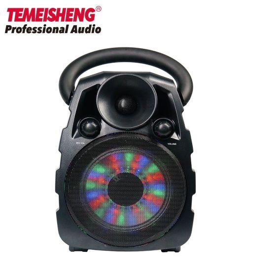 Temeisheng 6.5 Inch Full Range Portable Bluetooth Speaker LED Light