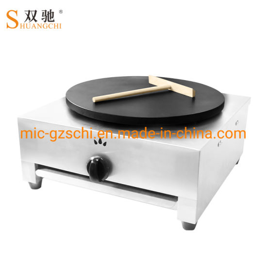 Commercial Gas Crepe Maker Gas Stove Pancake pictures & photos