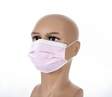 Face Mask Disposable 3 Layer Filtration Breathable Dustproof Filter Bacteria Face Mask
