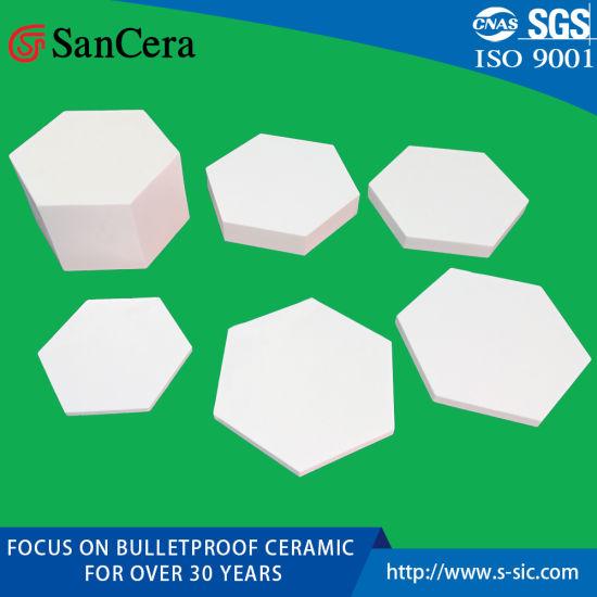Alumina Toughed Ballistic Ceramic for Armor Vest Protection