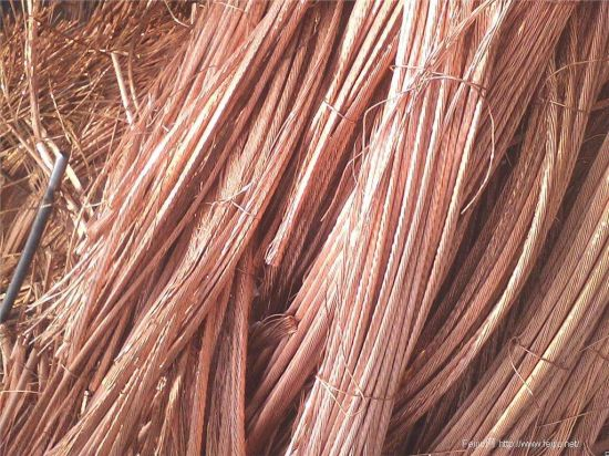Cheapest Price High Purity 99.95%-99.99% Scrap Copper Wire High Quality Waste Copper Wire