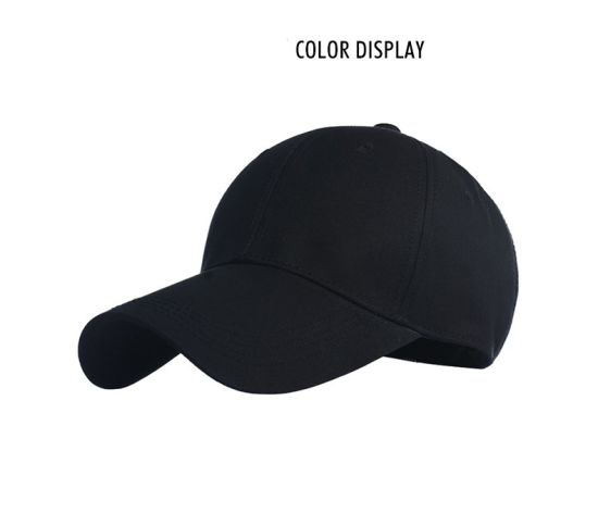 Custom Cotton Fashion Baseball Hat, Sport Cap with Long Visor Cap pictures & photos