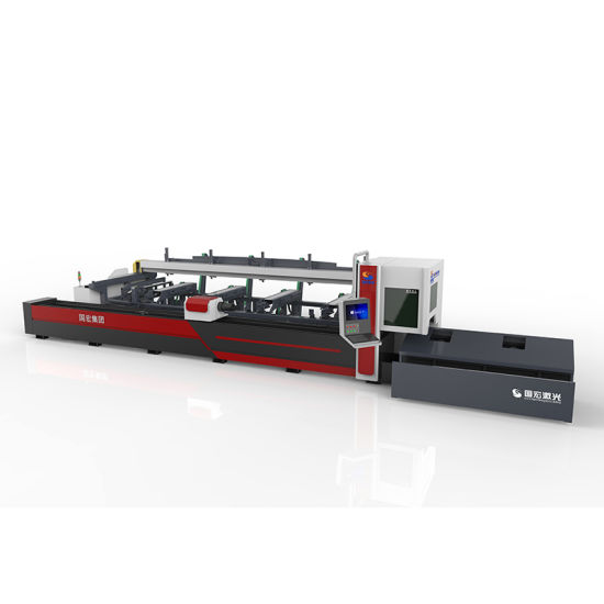 Automatic Loading and Unloading Professional Metal Tube Pipe Fiber Laser Cutting Machine