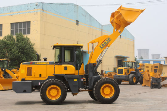 3 Ton Joystick and Air conditioner Wheel Loader Building Machinery pictures & photos