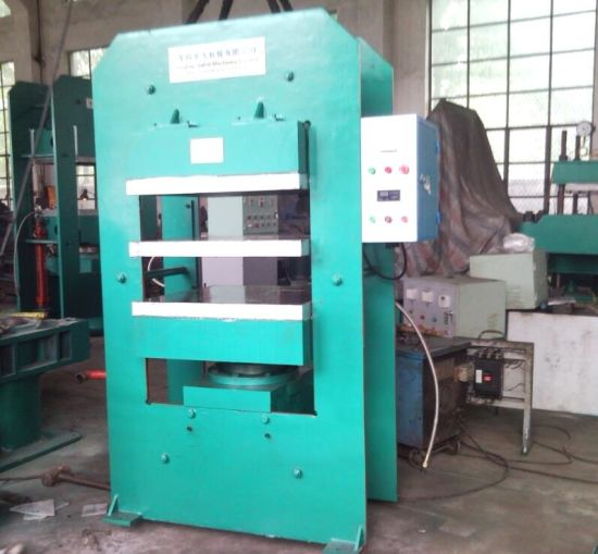 Vulcanizer Rubber Plate Hydraulic Vulcanizing Machine pictures & photos