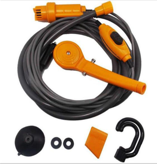 12V Portable Pressure Washer Automobile Shower Set Suitable for Indoor or Outdoor Use, Pet Washing, Car Washing, Camping, Baby Showering Esg13082