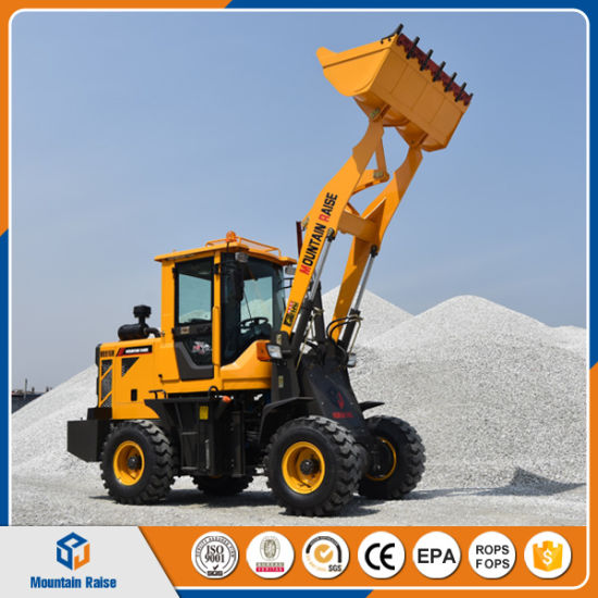 1.5 Ton Mini Loader Wheel Loader Zl15 Front End Loader Price with Ce pictures & photos