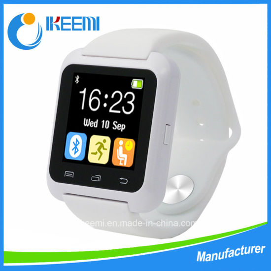 Bluetooth Smart Watch U80 Bt Notification Anti-Lost Wearable Wristwatch for iPhone 4/4s/5/5s/6 Samsung S4/Note 2/3 Android Phone