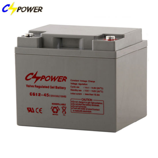 Sealed Rechargeable Lead Acid Battery 12V 45ah AGM Battery for Alarm System