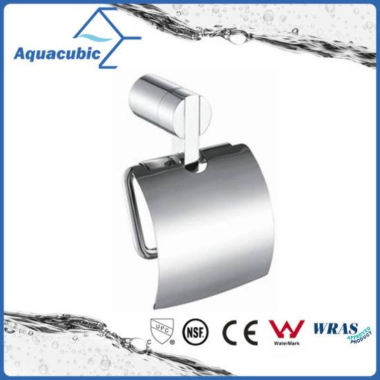 Modern Chromed Toilet Paper Holder (AA6612)