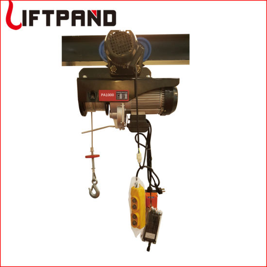 Lifting Machine Mini Electric Hoist with Electric Trolley Winches Electricos