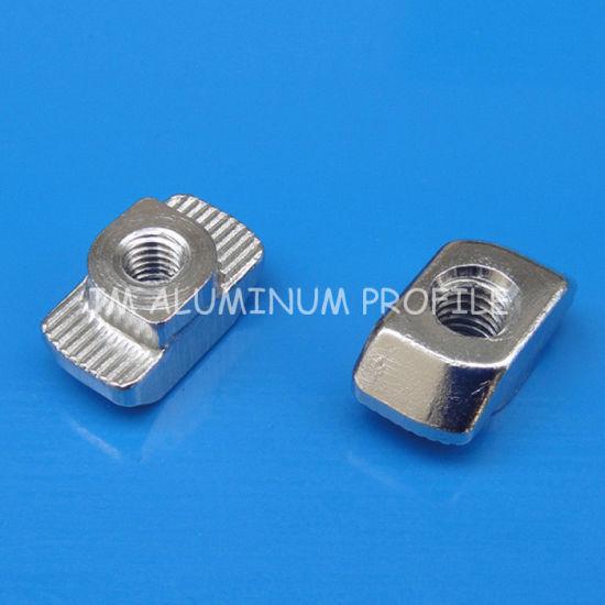 M6 Hammermutter Nut 8 mm M5 Hammer Nut Slot 8 Gewinde M4