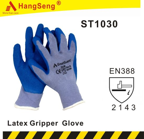 Thermal Latex Glove for Winter and Cold Storage Use