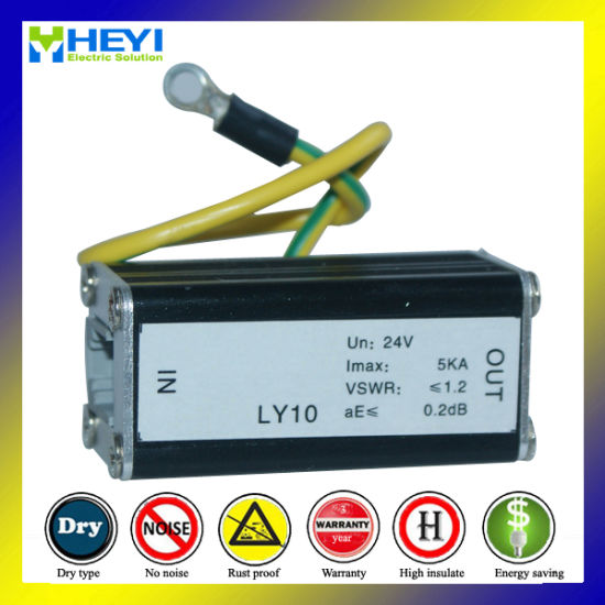 Ly10-24-5 24V 5ka DC Surge Signal Protection Lightning Surge Protector Signal Arrester pictures & photos