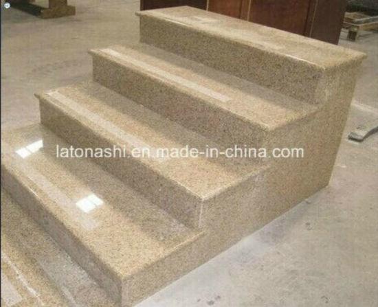 G682 Granite Step With Full Bullnose Edge