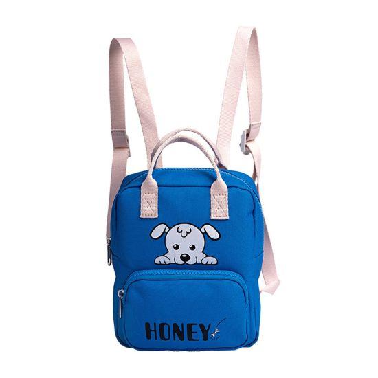 Promotion Nylon Student Book Bag Blue Child Backpack Kerean School Bag