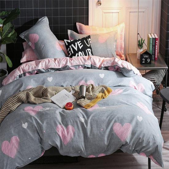 100% Cotton Bedding Sets, Cheap Queen Size Bedding Set for Kids