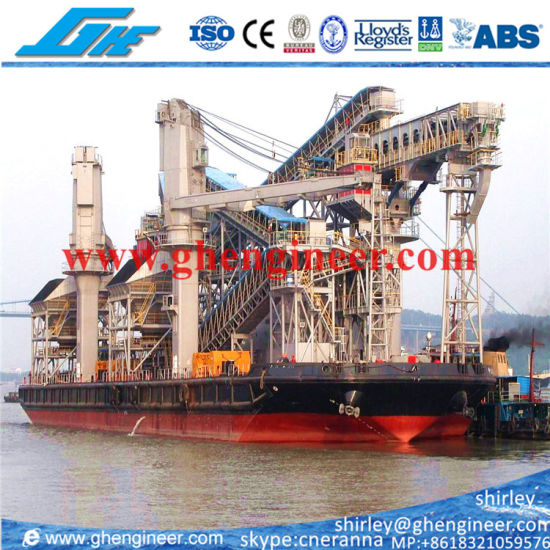 Floating Terminal Unloading Barge From Mother Vessel to Lighter pictures & photos