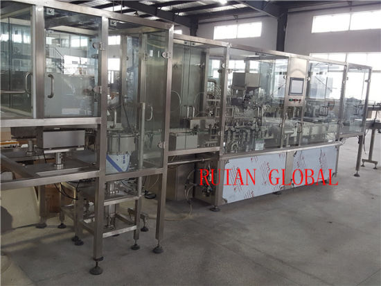 Liquid Filling and Capping Machine for Syrup Oral Liquid pictures & photos