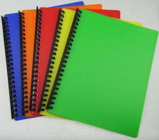 Customized 23 Hole Clear Book/Display Book (C013)