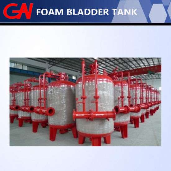 Phym Horizontal/Vertical Foam Bladder Tank for Foam Solution pictures & photos
